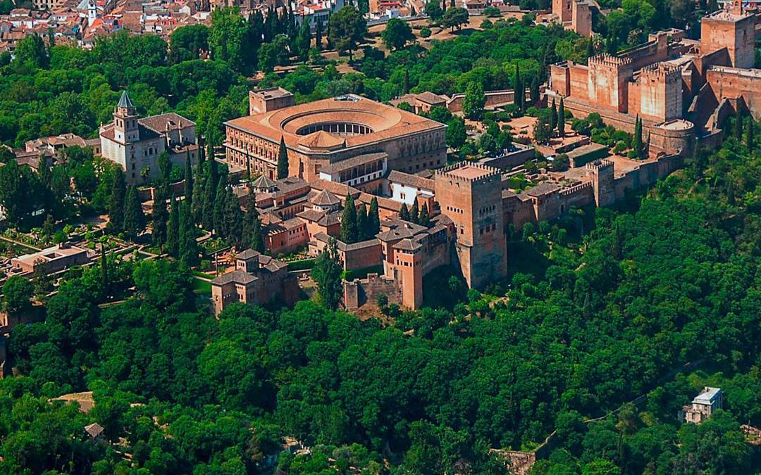 Mapa virtual 360º de Alhambra de Granada