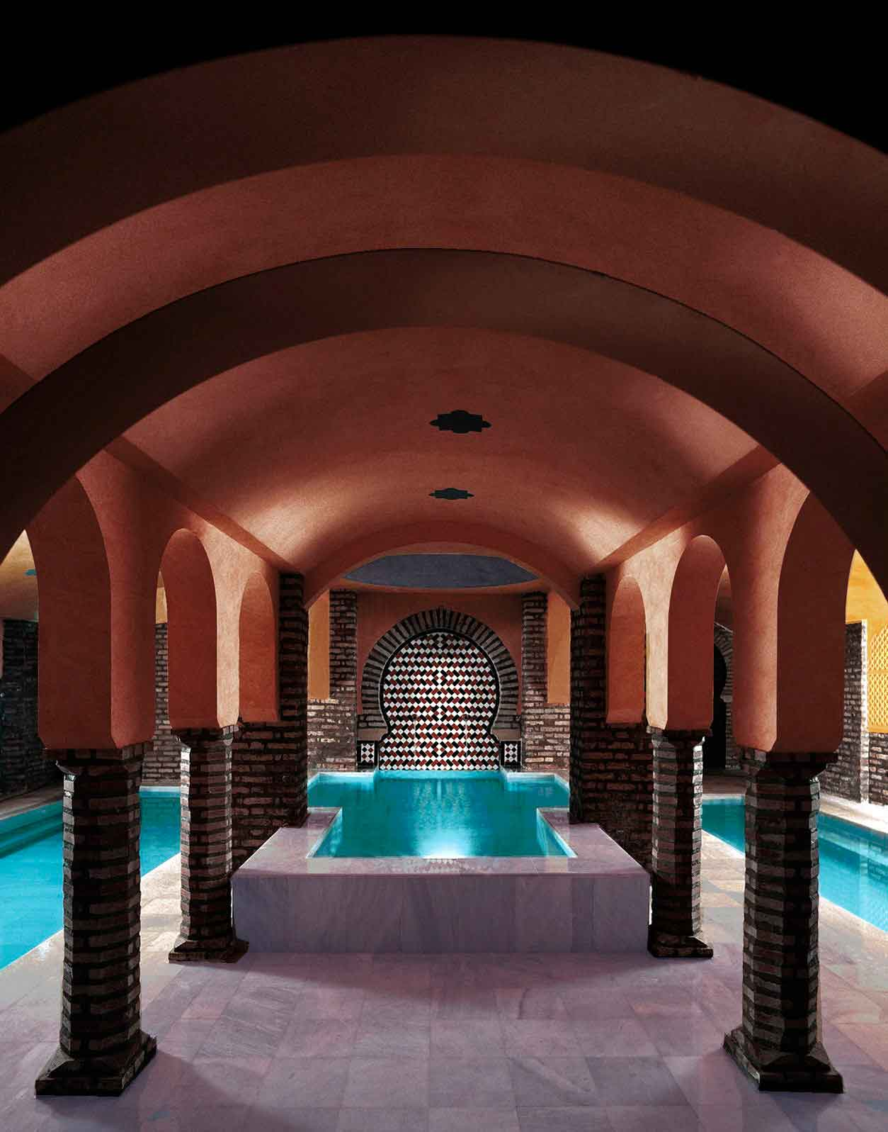 Visit to the alhambra and hammam arab baths - Banos granada ...